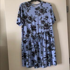 ASOS floral print cotton dress